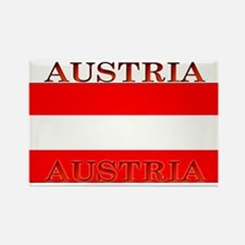 Austria Austrian Flag Rectangle Magnet
