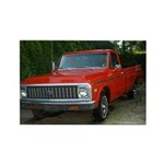 1971 Truck Rectangle Magnet (10 pack)