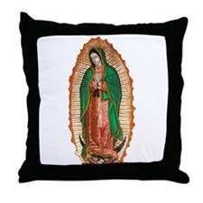Funny Our lady guadalupe Throw Pillow
