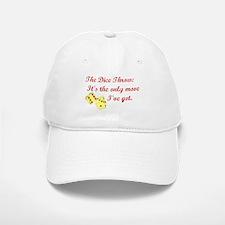 The Dice Throw Baseball Baseball Cap