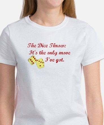 The Dice Throw Women's T-Shirt