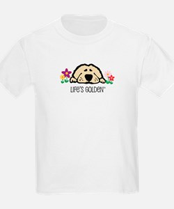 Life's Golden Spring Kids T-Shirt