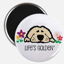 Life's Golden Spring Magnet
