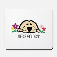 Life's Golden Spring Mousepad