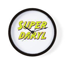 Super daryl Wall Clock