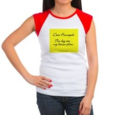 Lesson Plan Women's Cap Sleeve T-Shirt
