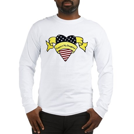 Support My Daughter Long Sleeve T-Shirt