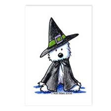 Witchy Westie Postcards (Package of 8)