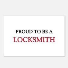 Proud to be a Locksmith Postcards (Package of 8)