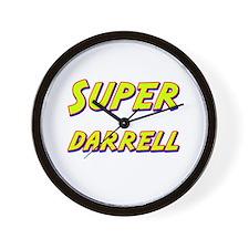 Super darrell Wall Clock