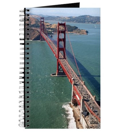 gifts! Aerial Golden Gate Bridge Journal