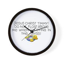 Watch My Dive! Wall Clock