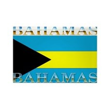 Bahamas Bahama Flag Rectangle Magnet