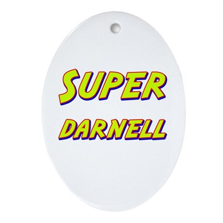 Super darnell Oval Ornament