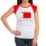 Bahrain Bahraini Flag Women's Cap Sleeve T-Shirt