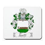 Tosetti Family Crest Mousepad