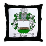 Tosetti Family Crest Throw Pillow