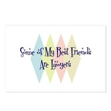 Lawyers Friends Postcards (Package of 8)