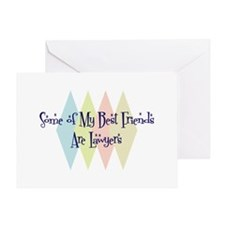 Lawyers Friends Greeting Card