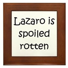 Cool Lazaro Framed Tile