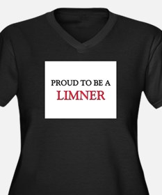 Proud to be a Limner Women's Plus Size V-Neck Dark
