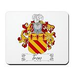 Trono Family Crest Mousepad