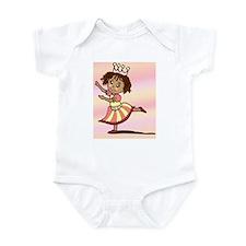 Pink Ballerina Infant Bodysuit