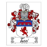 Tucci Family Crest Small Poster