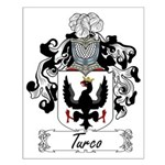 Turco Family Crest Small Poster