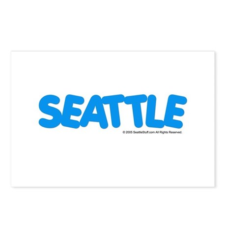 Seattle, WA Postcards (Package of 8)