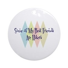 Hikers Friends Ornament (Round)