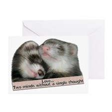Love...Two Minds Greeting Cards (Pk of 10)