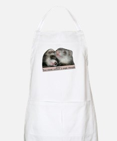 Love...Two Minds BBQ Apron