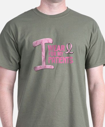 I Wear Pink For My Patients 21 T-Shirt