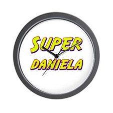 Super daniela Wall Clock