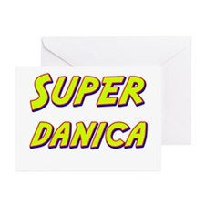 Super danica Greeting Cards (Pk of 20)