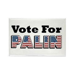 Vote for Palin - Sarah Palin Rectangle Magnet (100