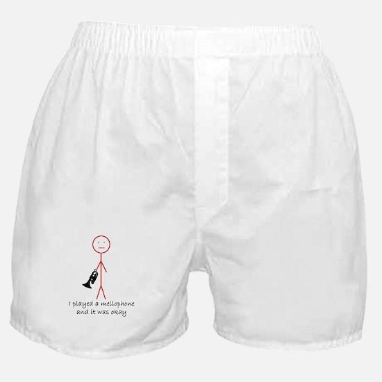 I Played A Mello Boxer Shorts
