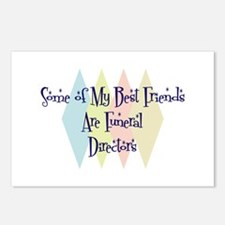 Funeral Directors Friends Postcards (Package of 8)
