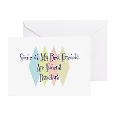 Funeral Directors Friends Greeting Card