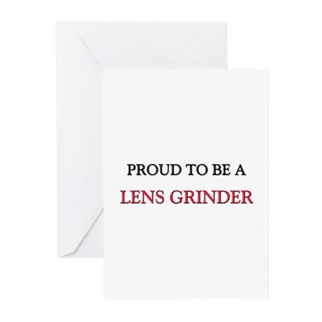 Proud to be a Lens Grinder Greeting Cards (Pk of 1