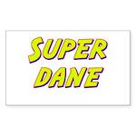 Super dane Rectangle Sticker
