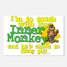 My Inner Monkey Postcards (Package of 8)
