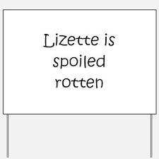 Lizette Yard Sign
