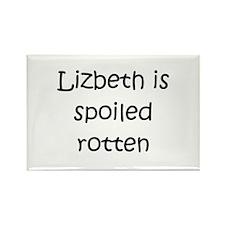 Cool Lizbeth Rectangle Magnet