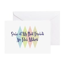 Film Makers Friends Greeting Card