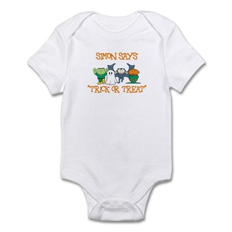 Simon Says Trick or Treat Infant Bodysuit