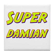 Super damian Tile Coaster