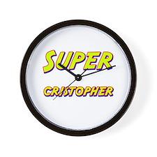 Super cristopher Wall Clock