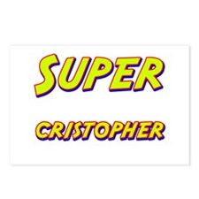 Super cristopher Postcards (Package of 8)